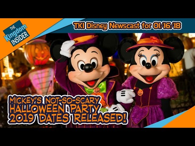 Mickey's Not-So-Scary Halloween 2019 Dates Announced! New Hotels at Universal!