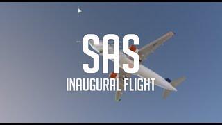 ROBLOX / SAS inaugural flight A320NEO.