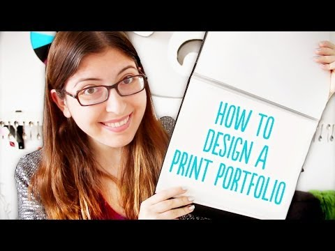 How to Design a Print Portfolio