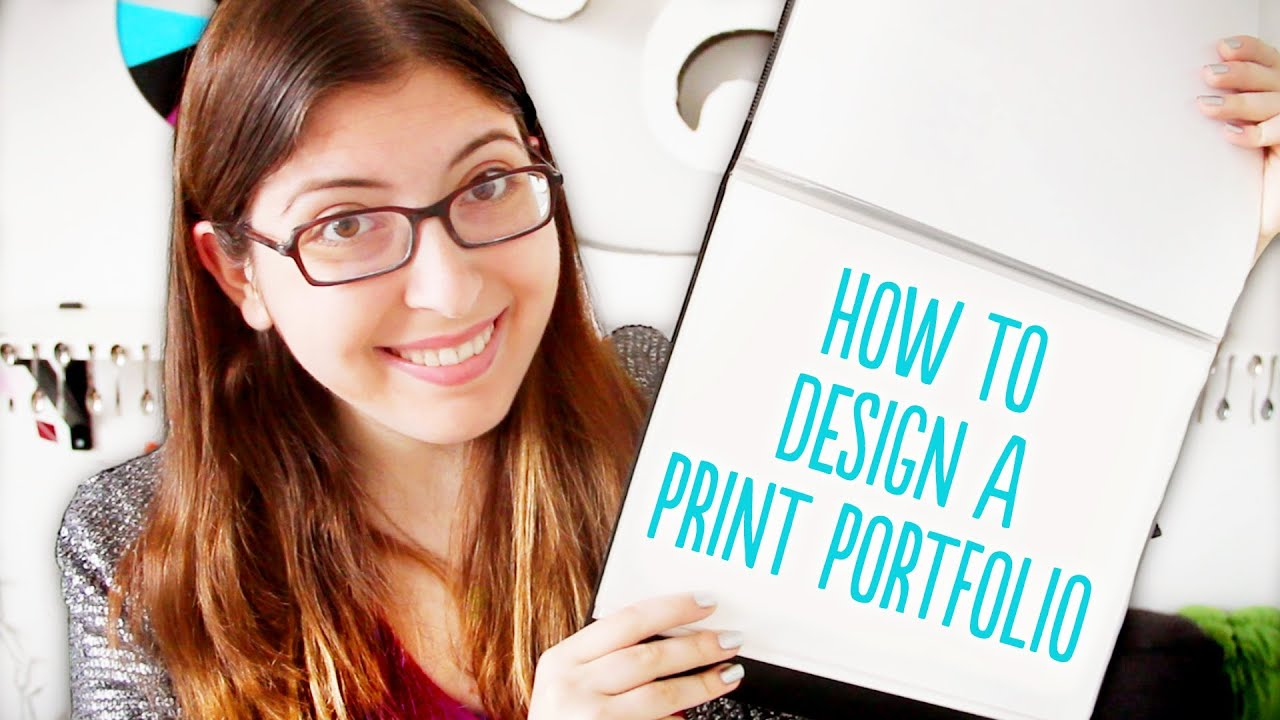 How to Design a Print Portfolio YouTube