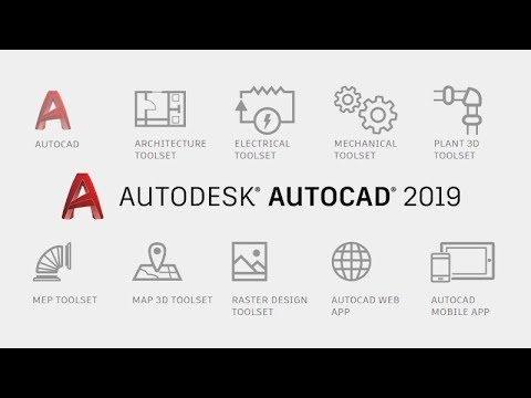 Introducing Autocad 2019 - 2D and 3D CAD Software, Plus Industry-Specific Toolsets