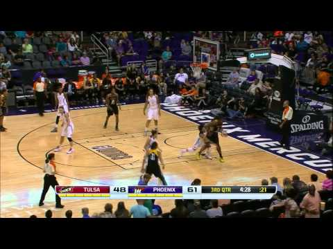 Condensed Game: Tulsa Shock vs. Phoenix Mercury,6/20/2014