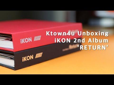 [Ktown4u Unboxing] : IKON - Album Vol.2 [Return]