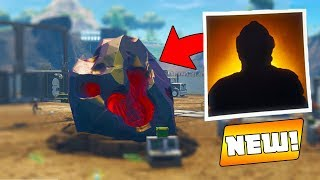 BLOCKBUSTER SKIN inside 'Dusty Divot' METEOR...? (Fortnite Blockbuster Skin Revealed!)