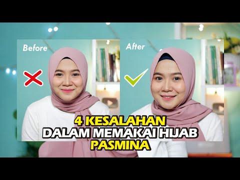 4 Kesalahan Menggunakan Hijab Pasmina Untuk Wajah Bulat
