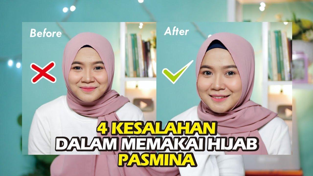 4 Kesalahan Menggunakan Hijab Pasmina Untuk Wajah Bulat Youtube