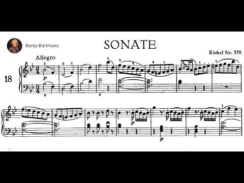 Mozart - Piano Sonata No. 17, K.570 (1789) {Ingrid Haebler}