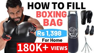 Boxing Bag Installation Fitness Hour Vinay Kumar