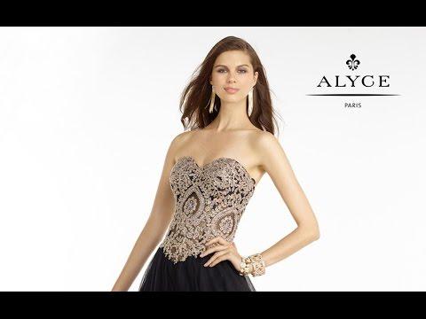 Alyce dress style 6596 chadwick