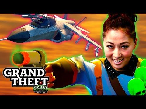 HOVER JET JOUSTING (Grand Theft Smosh)