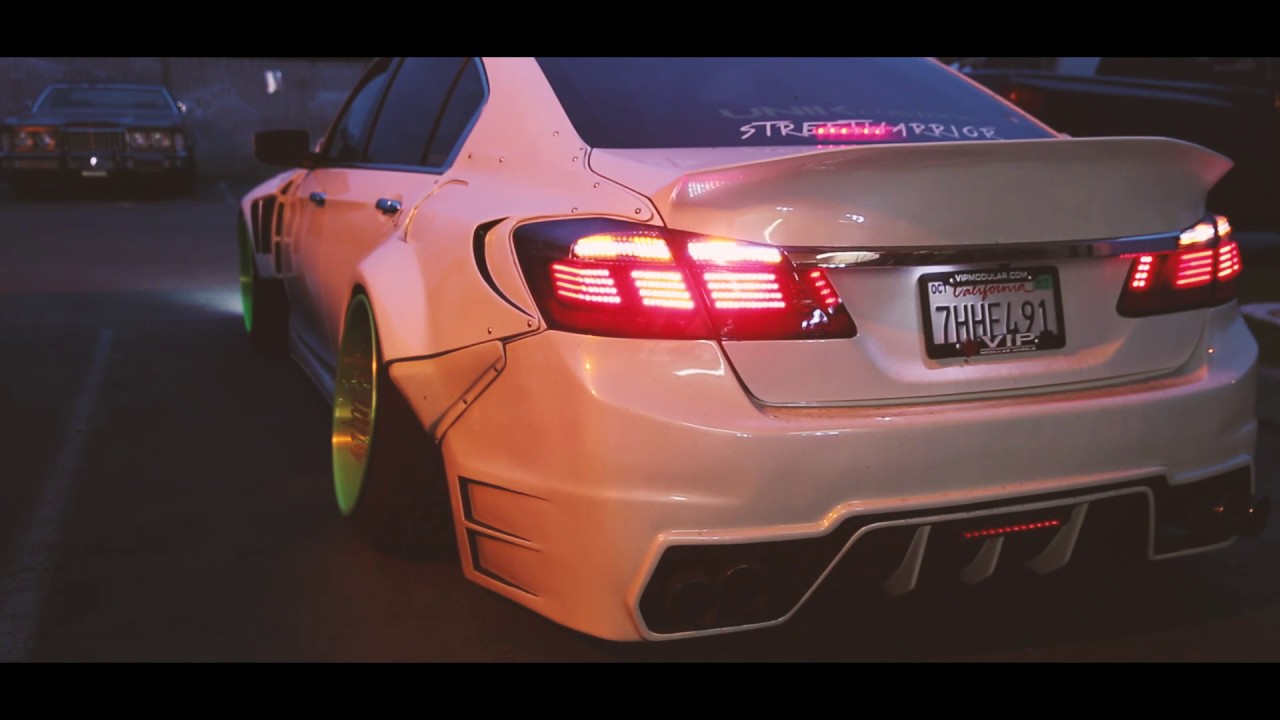 9Th Gen Accord >> 9TH GEN HONDA ACCORD WIDE BODY - YouTube