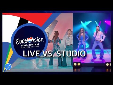 Little Big - Uno LIVE vs. STUDIO | Russia Eurovision Song Contest 2020