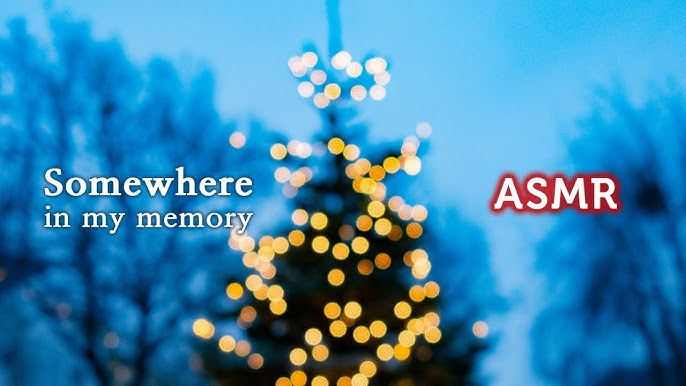 ASMR  Home Alone OST●Somewhere in My Memory with Snowy Winter, Christmas Ambience