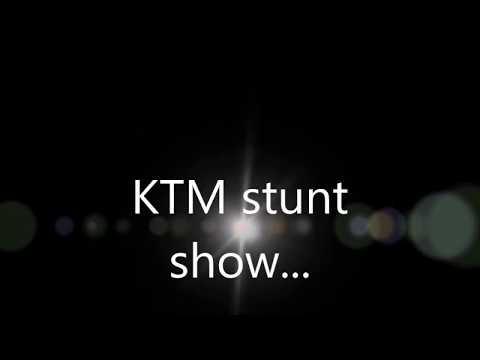 KTM stunt show @ Ramanagaram