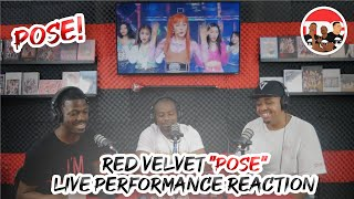 """Red Velvet """"Pose"""" Live Performance Reaction"""