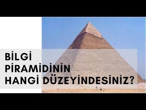 Bilgi piramidinin hangi düzeyindesiniz?