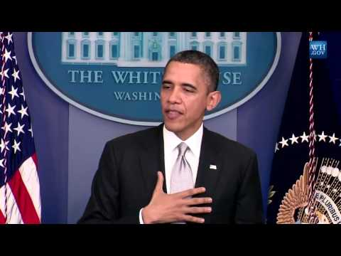 President Obama addresses issue of gun violence in response to Newtown shooting
