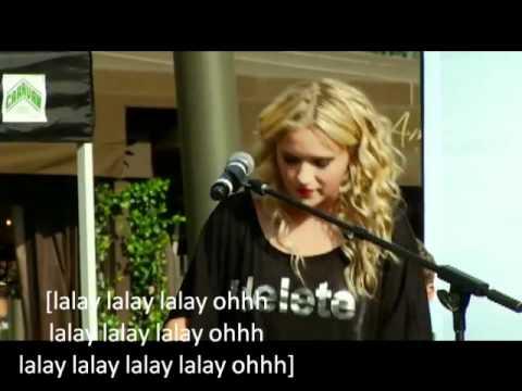 Emily Osment Drift Live With Lyrics