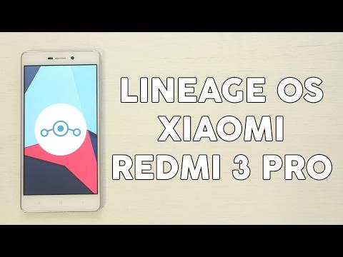 Cómo instalar LineageOS en Xiaomi Redmi 3/PRO