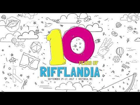 Rifflandia 2017 • September 14 -17, 2017 • Victoria, BC