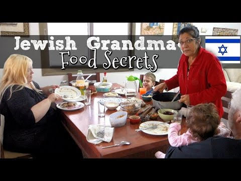 JEWISH GRANDMA SHARES FOOD SECRETS!