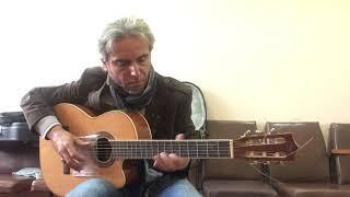 Виктор Цой- Восьмиклассница -guitar cover Garri Pat