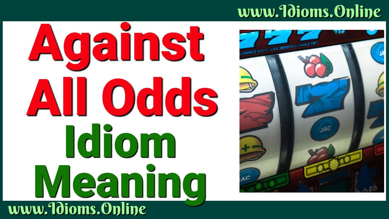 Betting against the odds meaning tagalog bettinger vete a la versh