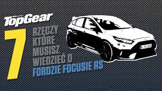 Ford Focus RS - 7 rzeczy, które musisz o nim wiedzieć | TopGear Polska(Ford Focus RS to bezsprzecznie najlepszy hot hatch na rynku jakiego możesz teraz kupić. Przedstawiamy 7 rzeczy, które musisz o nim wiedzieć. WIĘCEJ O ..., 2016-04-04T13:23:37.000Z)