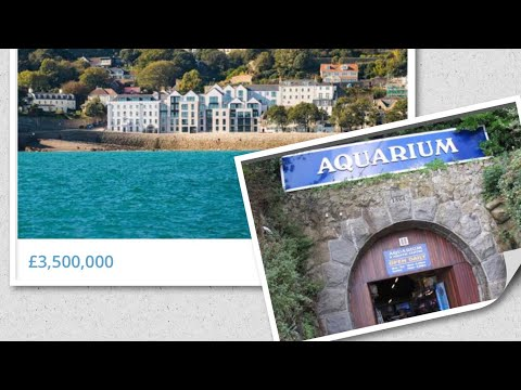 P&O Ventura| Guernsey million pound House Hunting| Getting lost on a small island