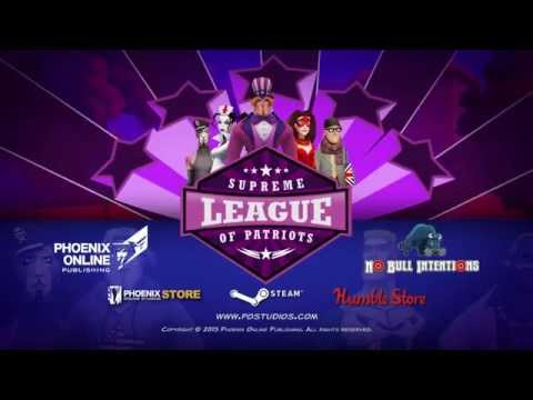 Supreme League of Patriots Gameplay Trailer