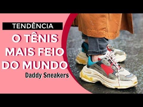 6c70258e80ed O tênis do seu pai está na moda! | #Tendência Daddy Sneakers | Juliana Sena  - YouTube