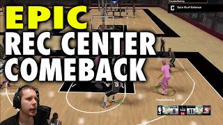 NBA2K15 Best Rec Center Comeback while Streaming