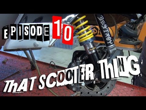 TST Ep. 10 - Vespa P200E, Part 1: First Look at a Si28 and Pinasco suspension