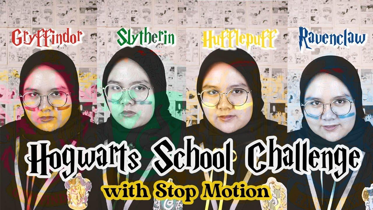 harry potter challenge hogwarts school hijab version