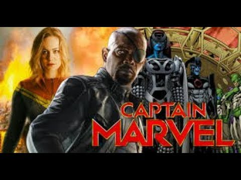 Marvel's Captain Marvel   Concept Trailer  2018   Brie Larson Movie   Fan Made720p