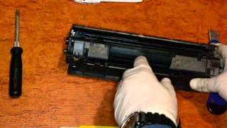 Заправка картриджей Canon 725, 728 и HP 35A, 36A, 85A(Инструкция по заправке картриджей Canon 725, 728 и HP 35A, 36A, 85A и подобных для принтеров MF3010, LBP-6000, M1132, P1102, P1005 и други..., 2015-06-12T18:07:22.000Z)