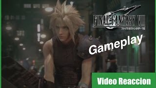 Final Fantasy VII Remake Gameplay  -- Video Reaccion Español
