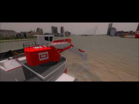 IHC training simulator excavator dredgers