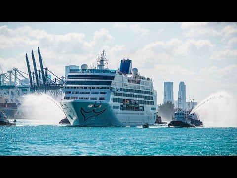 Zarpa de EEUU hacia Cuba el primer crucero en cinco décadas