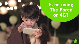 Maxis 4G presents Star Wars: The Force and the 4G