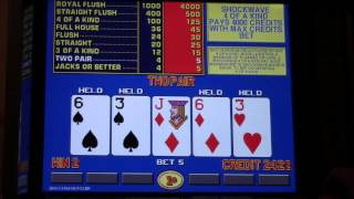 IGT Game King 6.2 Video Poker Play - HALF HOUR!