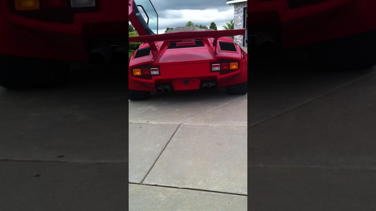 Custom Lamborghini Countach Rev Youtube