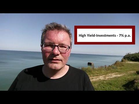 High Yield-Investments - 7 Prozent Ausschüttungsrendite von Passiver Geldfluss