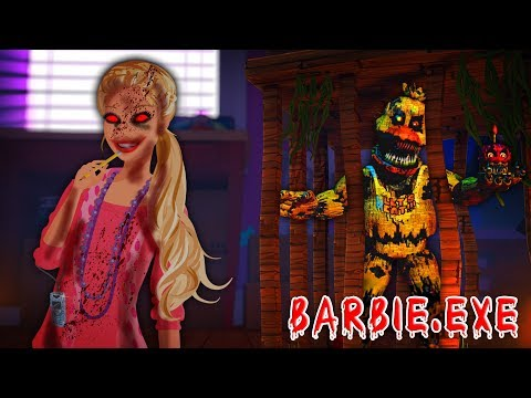 Minecraft  - BARBIE.EXE HORROR DOLL HOUSE IS HOLDING A DARK SECRET