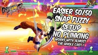 DBFZ 1.16 Easier 50/50 fuzzy snap setup, no plinking | DRAGON BALL FighterZ