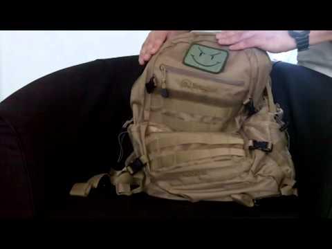 Review sac à dos tactique Snugpak Xocet 35 - YouTube a27d2490d1703