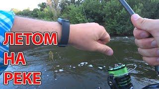 Рыбалка летом на реке на новый спиннинг Azura 20 Kenshin 8 1