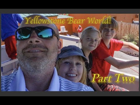 Hey Bear!!! Yellowstone Bear World (Part 2)