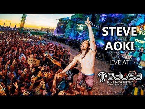 Steve Aoki - Live at Medusa Sunbeach Festival 2017 -