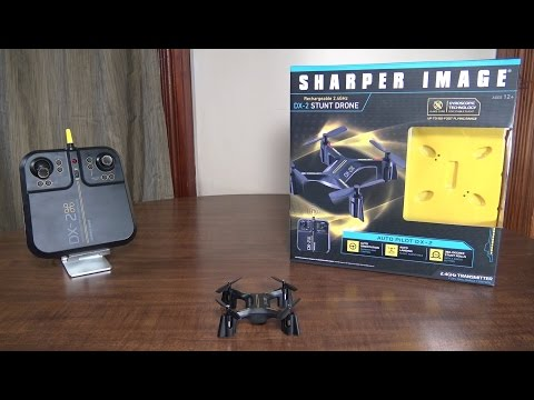Sharper Image - DX-2 Stunt Drone - Review and Flight